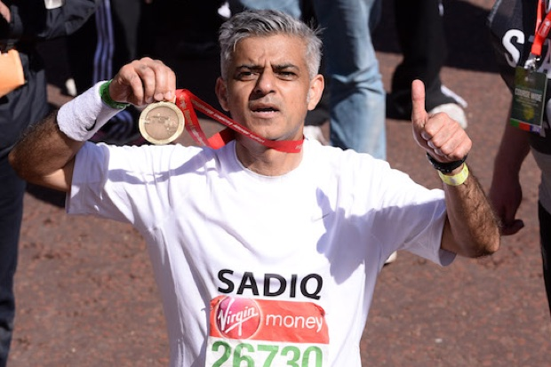 Celebrities: London Marathon 2014