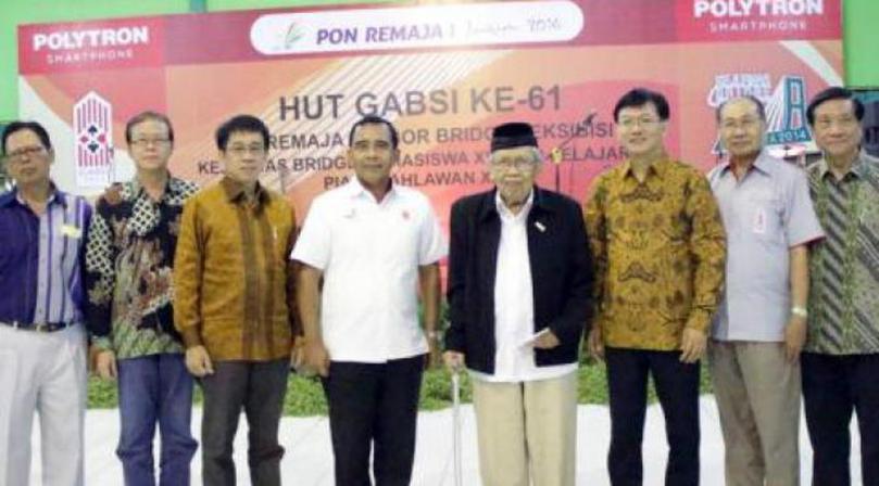 Pak Pur dan Ketua Umum KONI-Gabsi
